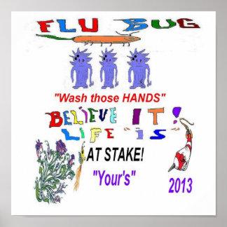 2013 Flu Bug Posters