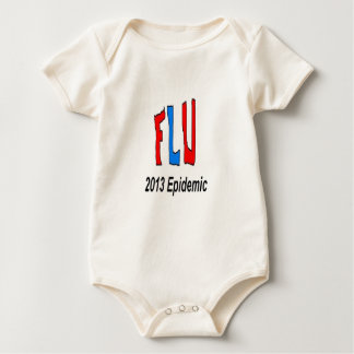 2013 Flu Epidemic Baby Bodysuit