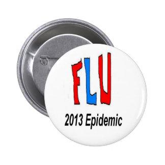 2013 Flu Epidemic Button