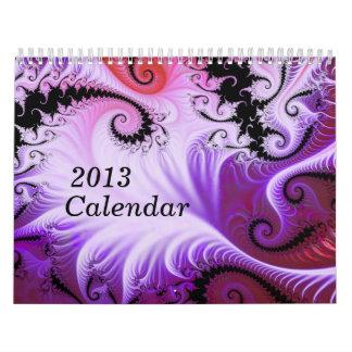 2013 Fractal Calendar