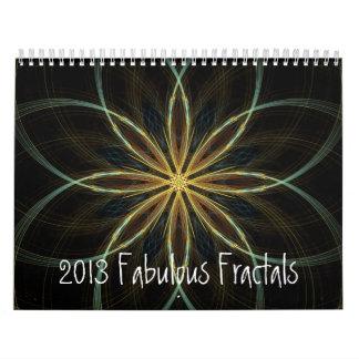 2013 fractales fabulosos del calendario