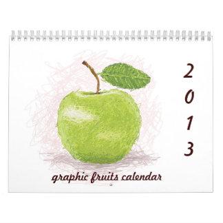 2013 fruits calendar II