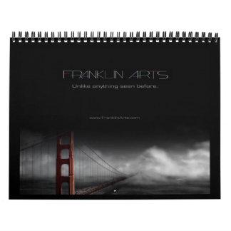 2013 Golden Gate Bridge Inspired Artwork Calendar