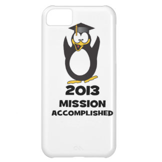 2013 Grad Mission Accomplished Funny Penguin iPhone 5C Case