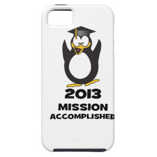 2013 Grad Mission Accomplished Funny Penguin iPhone SE/5/5s Case