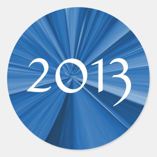2013 Graduation Classic Round Sticker