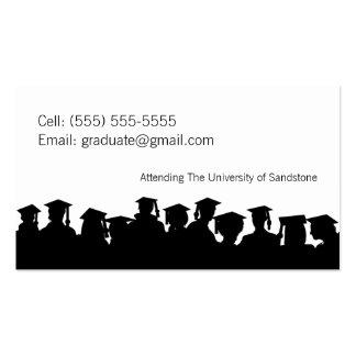 2013 Graduation Customized Name Card Business Card Template