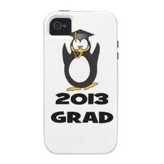 2013 Graduation Funny Penguin Vibe iPhone 4 Case