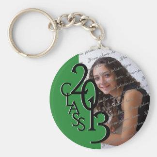 2013 Graduation Keepsake Green Keychain