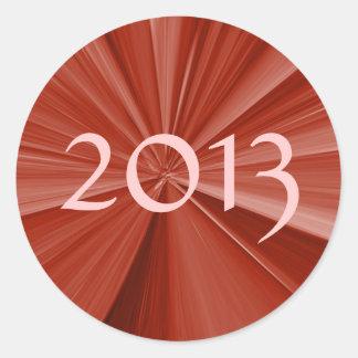 2013 Graduation Round Sticker