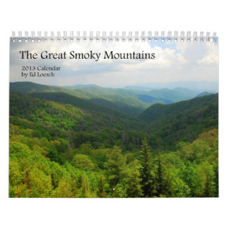 2013 Great Smoky Mountains Calendar
