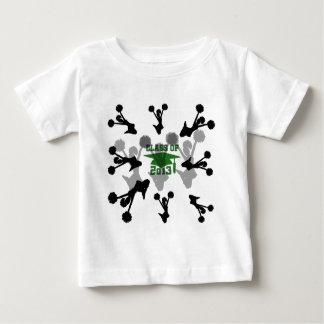 2013 green silver t shirt