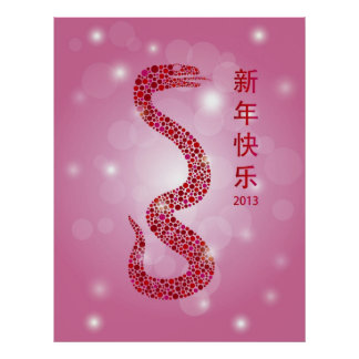 2013 Happy Chinese New Year Poster