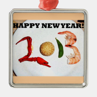 2013 happy new year asian chinese christmas ornament