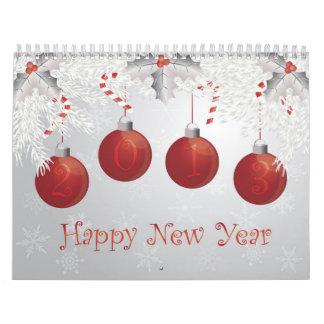 2013 Happy New Year Calendar