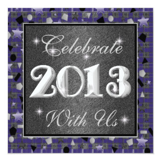 2013 Happy New Year Invitations Celebrate With Us