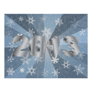 2013 Happy New Year Poster