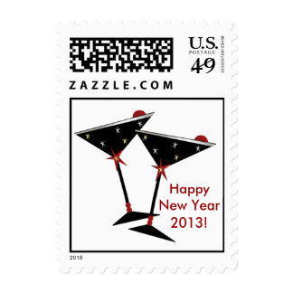 2013 Happy New Year Stamp