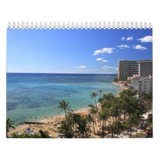 2013 Hawaii Calender Wall Calendar