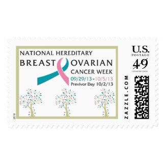 2013 HBOC week/PREVIVOR day postage stamps