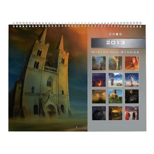 2013 historias misteriosas (3) - calendario de
