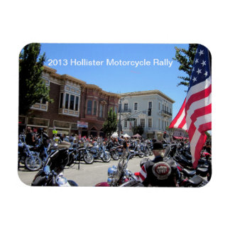 2013 Hollister Motorcycle Rally Magnet