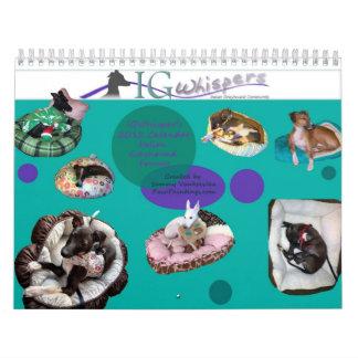 2013 IGWhispers' 2013 Italian Greyhound Calendar