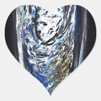2013 - ¡Impresión de encargo! Pegatina En Forma De Corazón