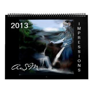 2013 - impressions-only Zazzle.com Calendar