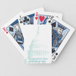 2013 inaugural baraja de cartas