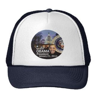 2013 inaugural gorras de camionero