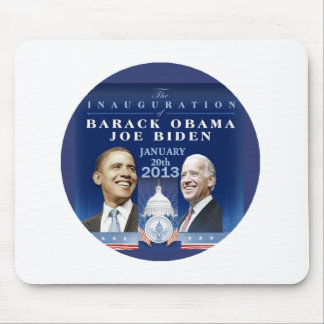 2013 inaugural mouse pad