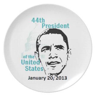 2013 inaugural platos