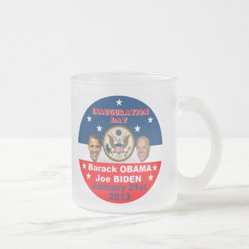 2013 inaugural taza de café