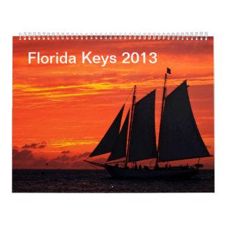 2013 Key West (Feb '13- Jan '14) Calendar
