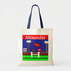 2013 Kids Football Back To School Book Or Gym Bag at Zazzle