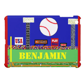 2013 Kids Sport Baseball Personalized iPad Cover