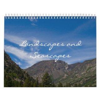 2013 Landscapes & Seascapes Calendars