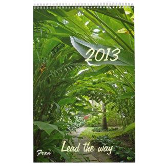 2013 lead the way calendar
