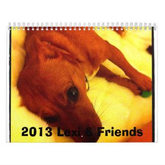 2013 Lexi & Friends Dog Calendar