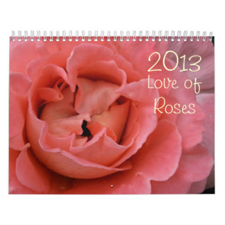 2013 love of roses color photography calender calendars