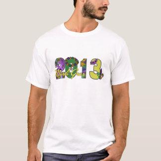 2013 Mardi Gras New Orleans Word Art T-Shirt