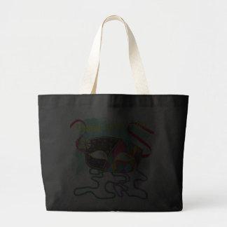 2013 Mardi Gras Tote Canvas Bags