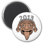 2013 Mayan Party Guy Magnets