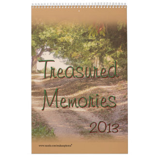 2013 Memories Calendar, add your own pictures Calendar