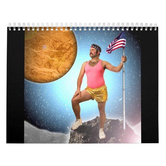 2013 Mustache Calendar