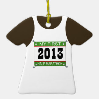 2013 My First Half Marathon Ornament