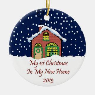 2013 My New Home Christmas Christmas Ornament