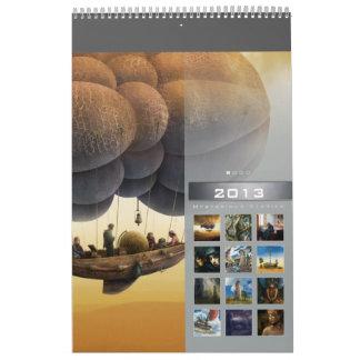 2013 Mysterious Stories (1) - Wall Calendar