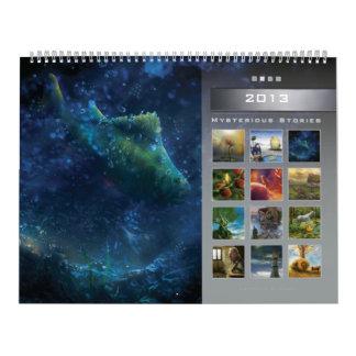 2013 Mysterious Stories 2 - Huge Wall Calendar